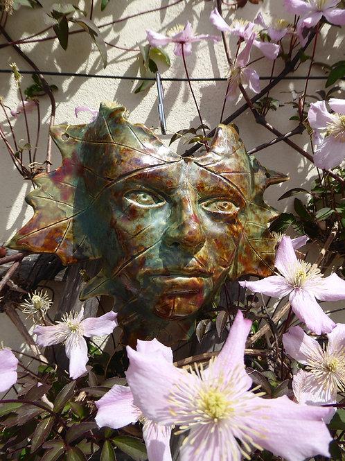 Leaf Mask (Stoneware)