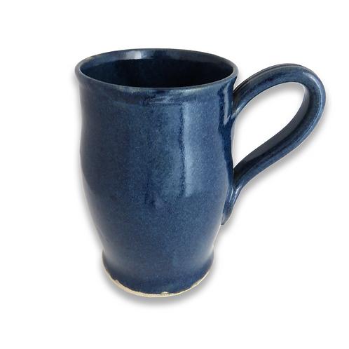 Dark Blue Stoneware mug