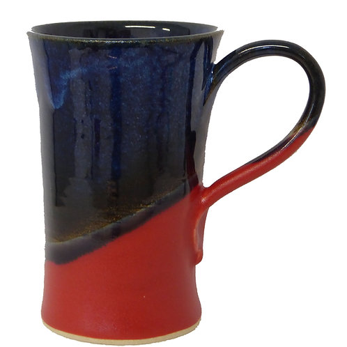Red & Blue Coffee Cup (Stoneware)