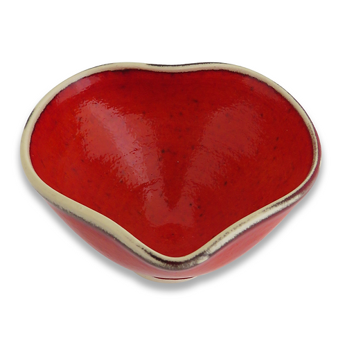 Heart Bowl (Earthenware)