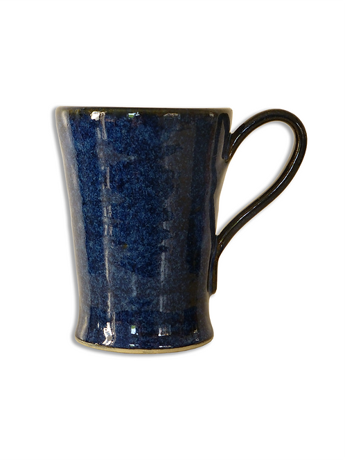 Dark Blue Coffee Cup (Stoneware)