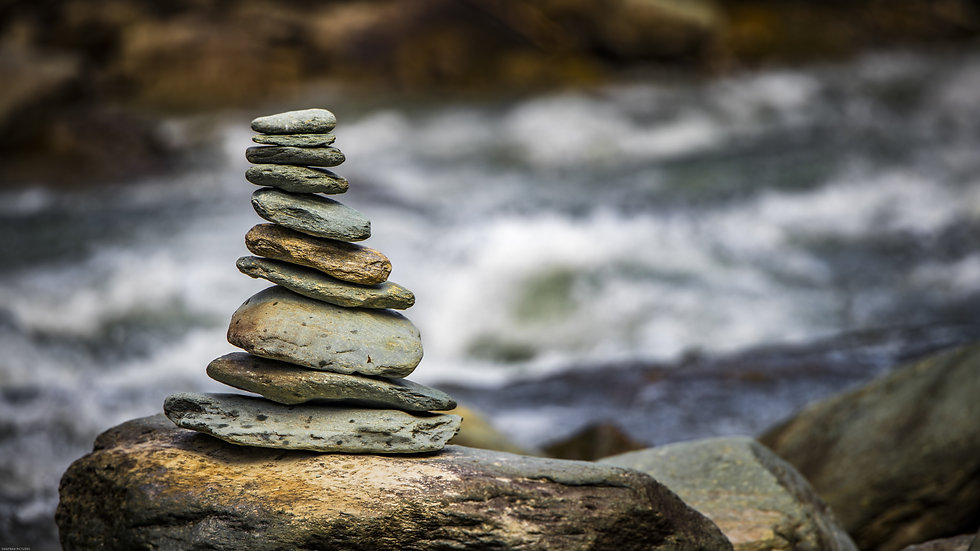 The balancing stone, known as a cairn, is a symbol for our body balancing, stress relief, pain relief, massage therapy, that is unique to you.