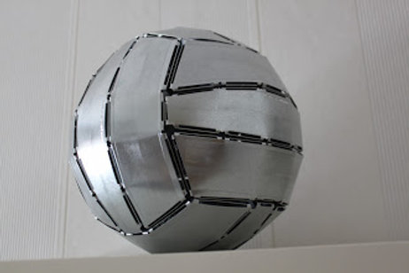 Galvanized Volleyball