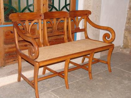 Cadeirao triplo VJ Flor de Lis