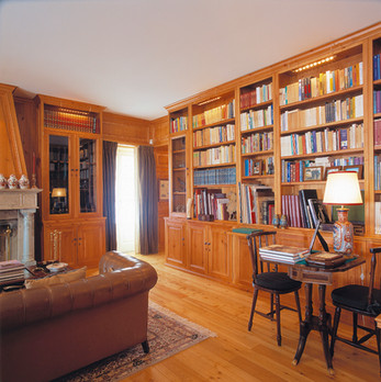 Biblioteca/boiserie . Sintra . 2001