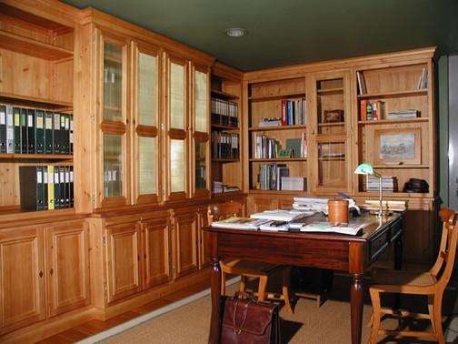 Biblioteca / escritório VJ . Janas . 2003