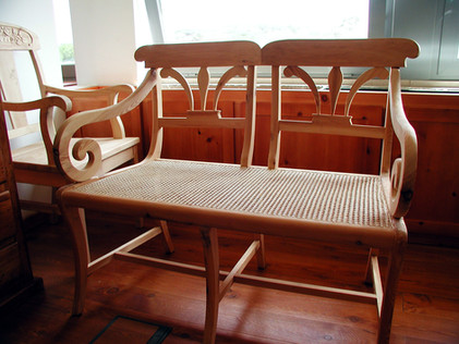 Cadeirao duplo VJ Flor de Lis
