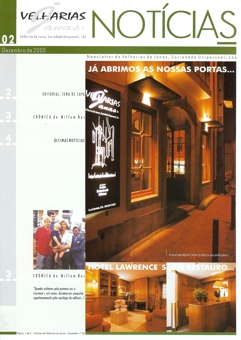 Newsletter VJ 2 | Dezembro de 2000