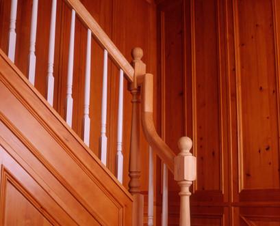 Boiserie e escadas . Cascais . 2007