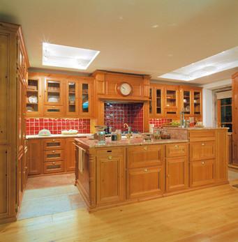 Cozinha clássica . Antigo Showroom VJ em Colares . 2003