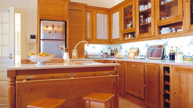 Cozinha clássica . Sintra . 2000