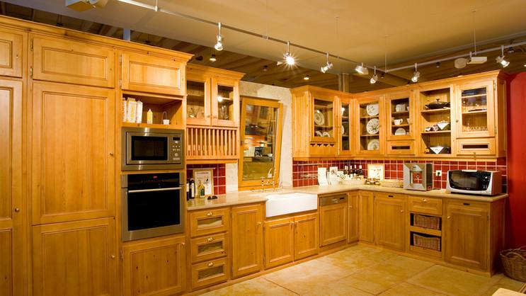 Cozinha clássica VJ . Stand Intercasa 2004