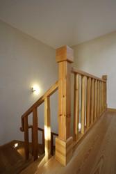 Escada em madeira . Santo Estêvão . 2005