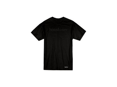 """houstoner """"BLACK on BLACK"""" T - S h i r t"""
