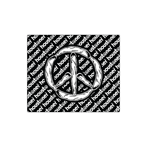 Houstoner Keep The Peace Glass Mat