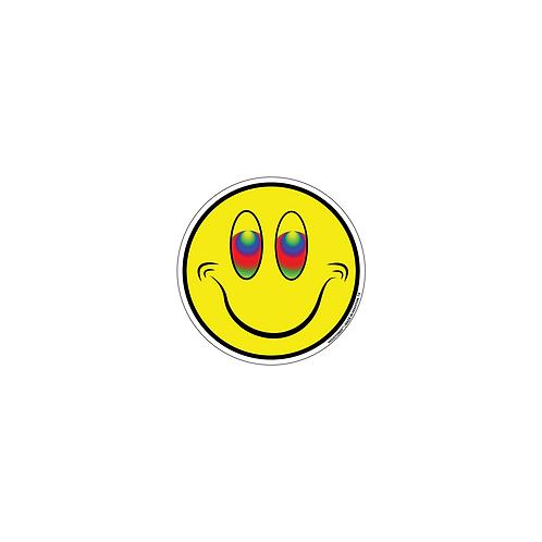 "Houstoner ™ ""Happy Face"" S T I C K E R"