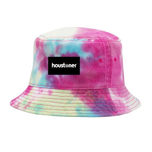 Tie Dye Houstoner Bucket Hat Front View
