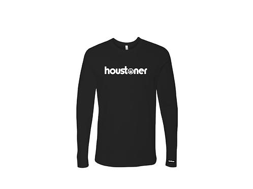 """houstoner™ """"BLACK""""  L O N G  S L E E V E"""
