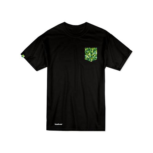 Houstoner St. Patrick's Pocket T Shirt Front View