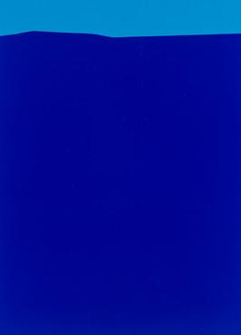 Oben Hellblau