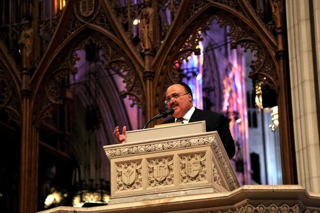 King delivers Sunday Sermon at the National Cathedral