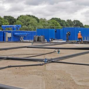 NAPL Recovery System Aviation Fuel - Arcadis, UK