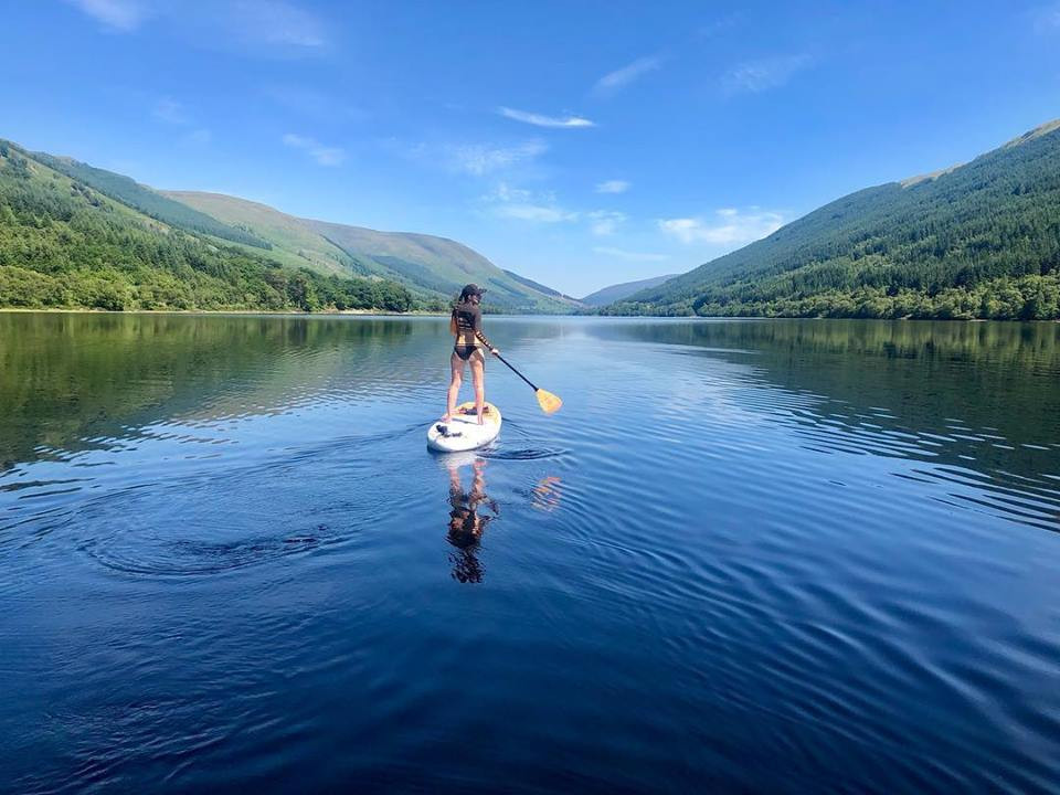 Wilderness SUP stand up paddleboarding scotland gift experiences with gyphto