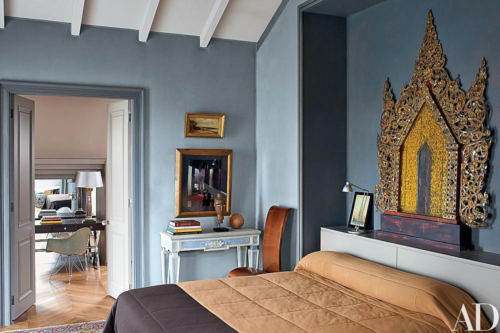 Sophia & Joseph spotlight on contemporary russian interior design eastern style bedroom inspiration by Dmitry Velikovsky