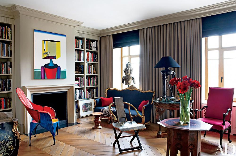 Sophia & Joseph spotlight on contemporary russian interior design living room inspiration by Dmitry Velikovsky