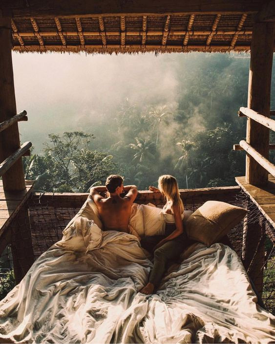 young couple honeymoon bali airbnb luxury group wedding gift ideas with gyphto