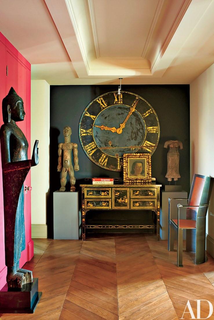Sophia & Joseph spotlight on contemporary russian interior design hallway antique inspiration by Dmitry Velikovsky