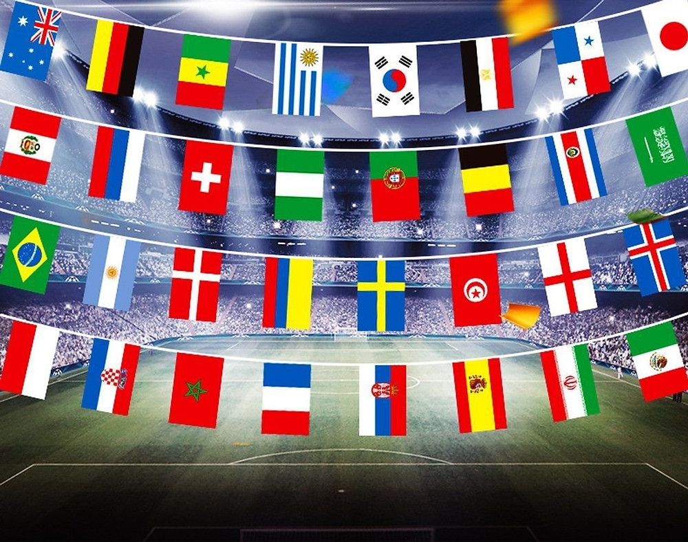 World cup final bunting party ideas with gyphto