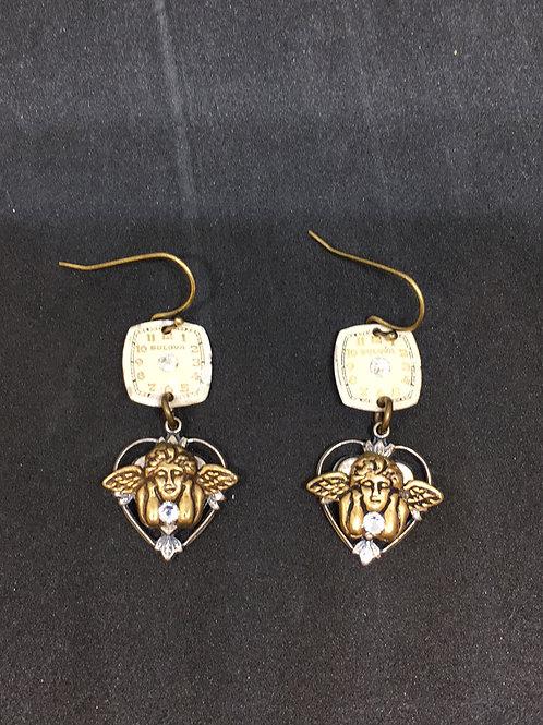 Angels Watching Over Me Earrings