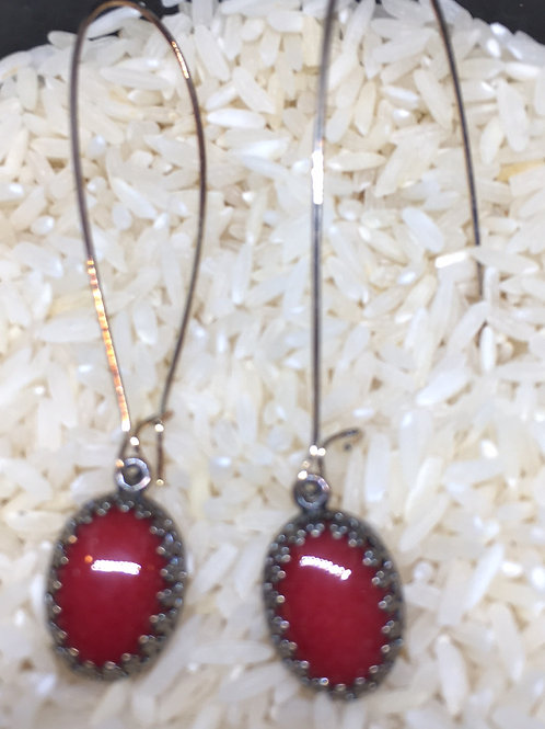 Julio Coral Earring