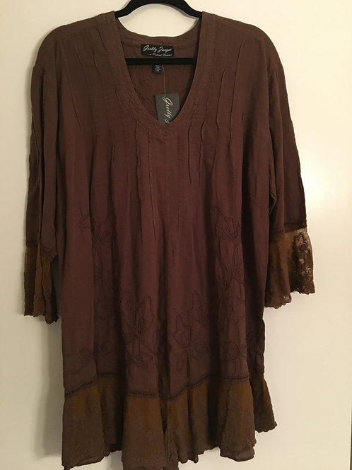 Gretty Zueger Brown Tunic