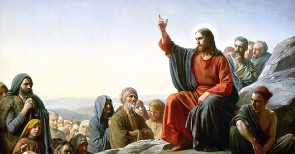 Jesus Preaches the Gospel
