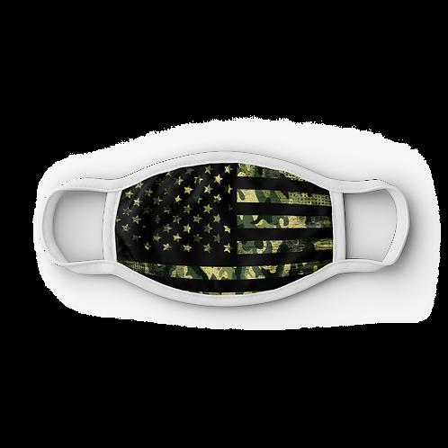 Camo USA Flag Mask