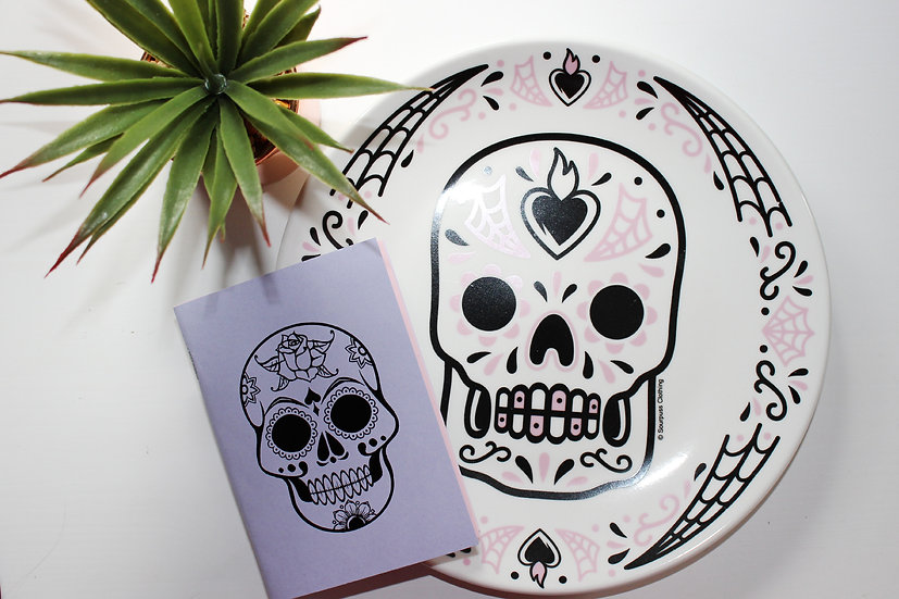 Day of the Dead Travellers Notebook Insert