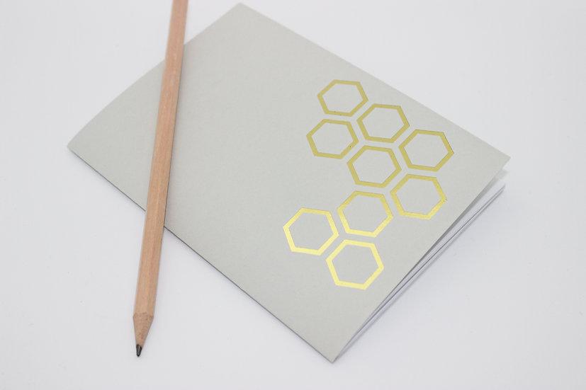 Gold Honeycomb Travellers Notebook Insert