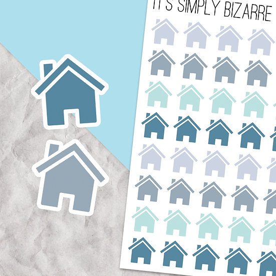 House Tracking Stickers
