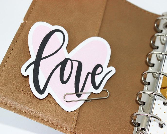 Love Heart Die Cut