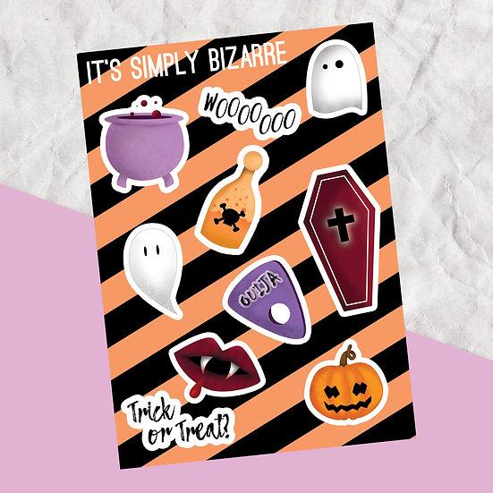 Decorative Halloween Stickers
