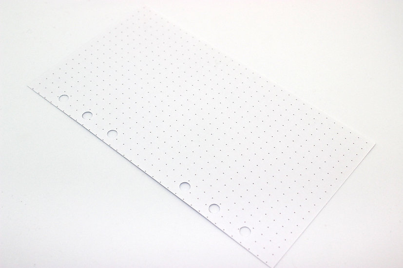 White Ring Planner Inserts