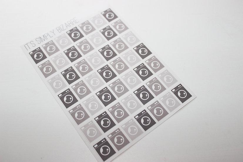 Washing Machine Stickers