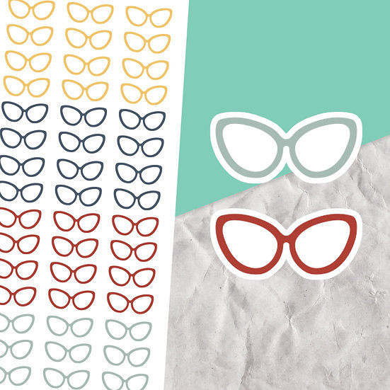 Glasses Stickers