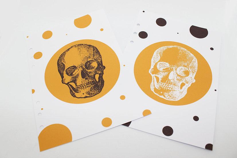 Halloween Skull Planner Dashboard