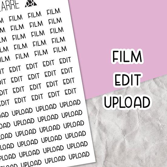 YouTuber Script Stickers