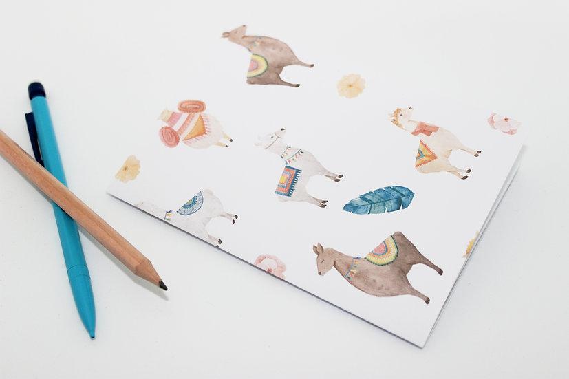 Llama Print Travellers Notebook Insert