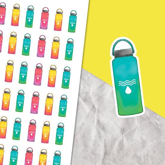 Water Bottle Planner Stickers