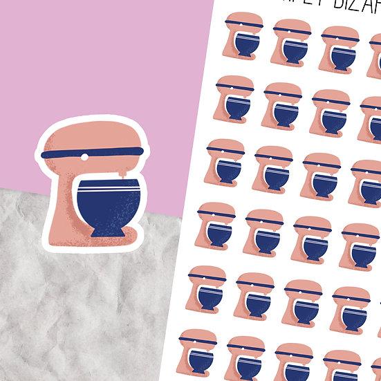 Kitchen Mixer Planner Stickers